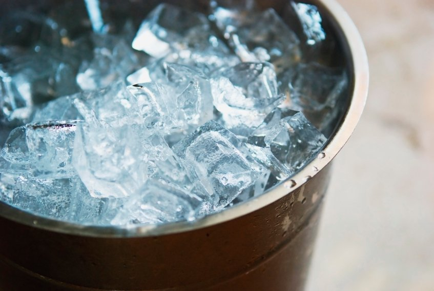 Ice In A Bucket